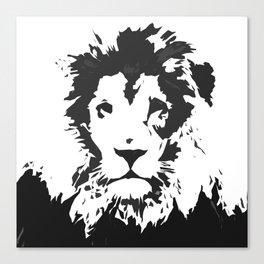 King of the Savanna Canvas Print