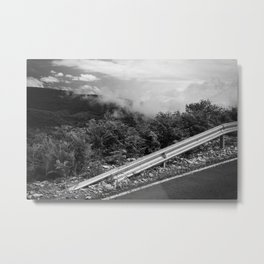 The Smoke Monster Metal Print
