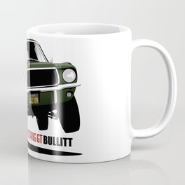Ford Mustang Fastback GT 1968 from Bullitt Coffee Mug
