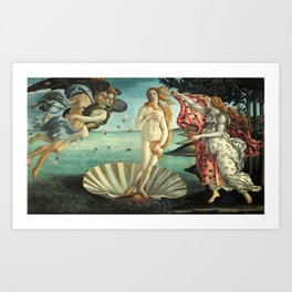 Sandro Botticelli's The Birth of Venus Art Print