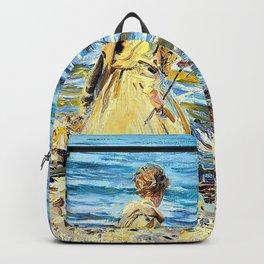 John Singer Sargent - Girl Fishing - Digital Remastered Edition Backpack