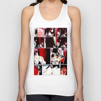 gore Tank Tops featuring The Gore Gore Girls by Zombie Rust