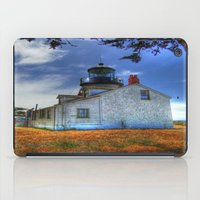 lighthouse iPad Cases featuring Lighthouse by Christine Workman