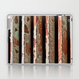 Rusty Radiator Bars Laptop & iPad Skin