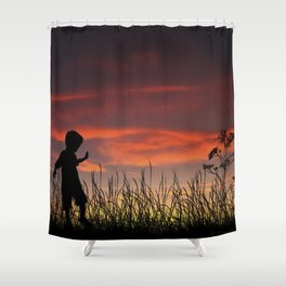 The Beginning of a Journey Shower Curtain