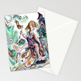 R.B.Sunday Outing Stationery Cards