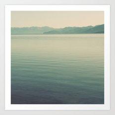The Calm Art Print