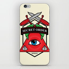 Secret Order iPhone Skin