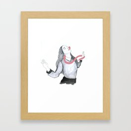 All the bad things Framed Art Print