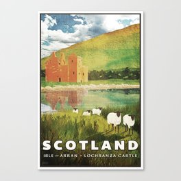 Scotland, Isle of Arran Canvas Print