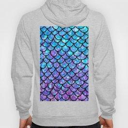 Purples & Blues Mermaid scales Hoody