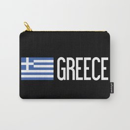 Greece: Greek Flag & Greece Carry-All Pouch