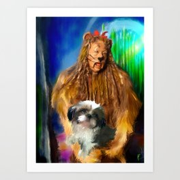 Conquering Fears Art Print