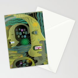 Race Against Time Stationery Cards
