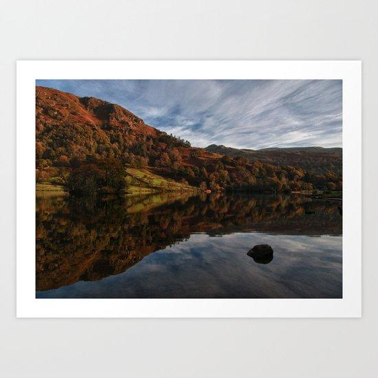 Rydal Water Art Print