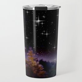 My world at night. Travel Mug