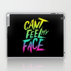 Can't Feel My Face Laptop & iPad Skin