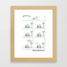 Supers - Smash Framed Art Print