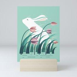Rabbit, Resting Mini Art Print