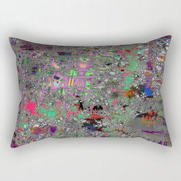 comic crash bang booom Rectangular Pillow