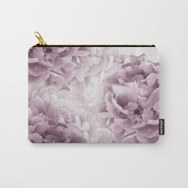 Mauve Peonies Dream #1 #floral #decor #art #society6 Carry-All Pouch