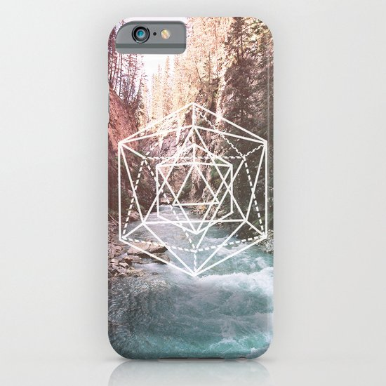 River Triangulation iPhone & iPod Case