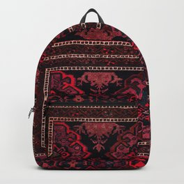 traditional Moroccan Boho Style Design B25 Backpack