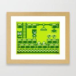 Game Boy Framed Art Print