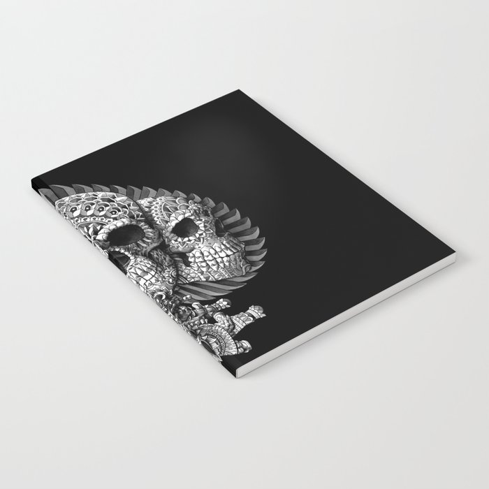 Skull Spade Notebook