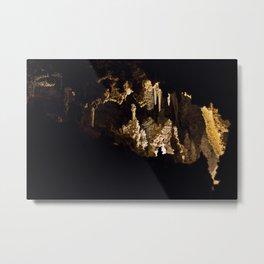 Carlsbad Caverns II Metal Print