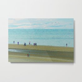 Zandvoort beach in April Metal Print