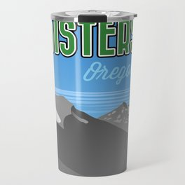 Landmarks of Life: Sisters, Oregon Travel Mug
