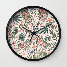 Desert Palm Wall Clock