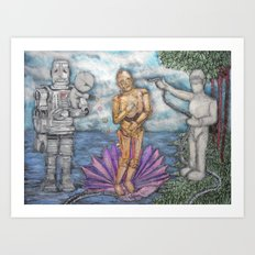 robotocelli Art Print