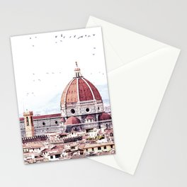 Brunelleschi's masterpiece Stationery Cards