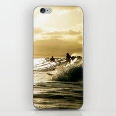 Surf Sunset iPhone & iPod Skin