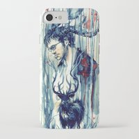will graham iPhone & iPod Cases featuring Will Graham by AkiMao