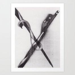 CROSSBOW - BY NATALIJA AKOVIC Art Print