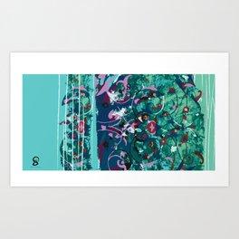 Modern Eslimi Art Print