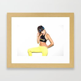 Knockout - Juliette Framed Art Print