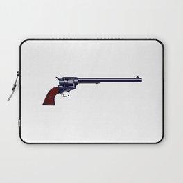 Long Barrel Six Gun Laptop Sleeve