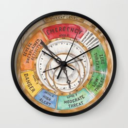 Magical Exposure Threat Level Wall Clock