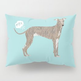 italian greyhound farting dog cute funny dog gifts pure breed dogs Pillow Sham