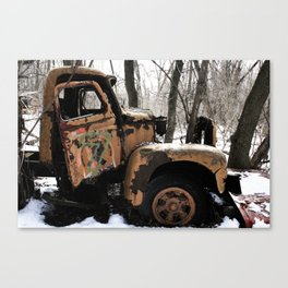 Where Did I Park The Truck? Canvas Print