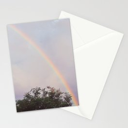 Acacia and rainbow Stationery Cards