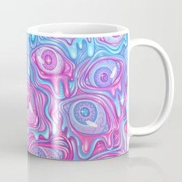 Eyeball Pattern - Version 2 Coffee Mug