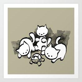 minima - mow Art Print