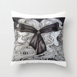 Bipolar Disorder Throw Pillow