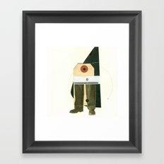 Leg man Framed Art Print