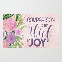 Comparison in the Thief of Joy Rug